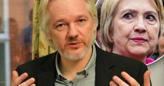 julian assange hillary clinton wikileaks founder promises leaks