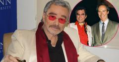 Burt Reynolds attends Student Showcase of Films at the Palm Beach International Film Festival. Inset, Burt Reynolds and Clint Eastwood.