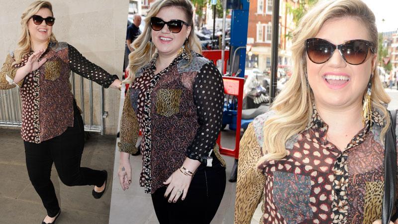 Kelly Clarkson Weight London