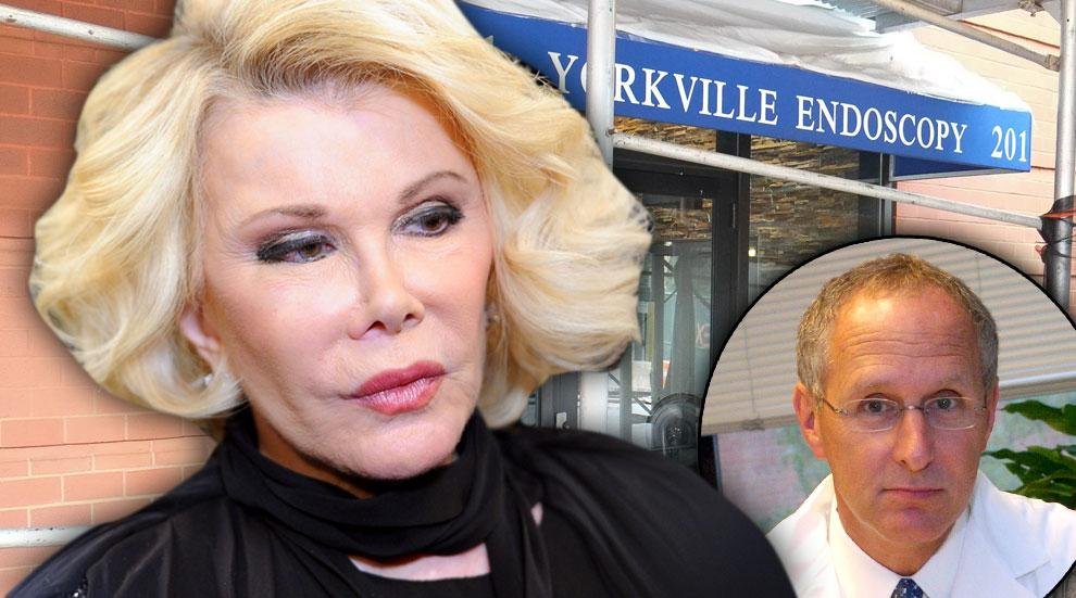 Joan Rivers Lawsuit Dr. Lawrence Cohen