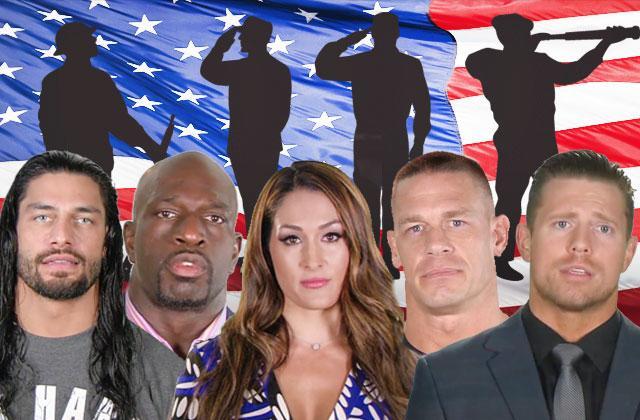 WWE Superstars Honor Military Heroes Memorial Day Video