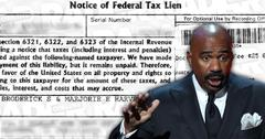 Steve Harvey Tax Bill IRS