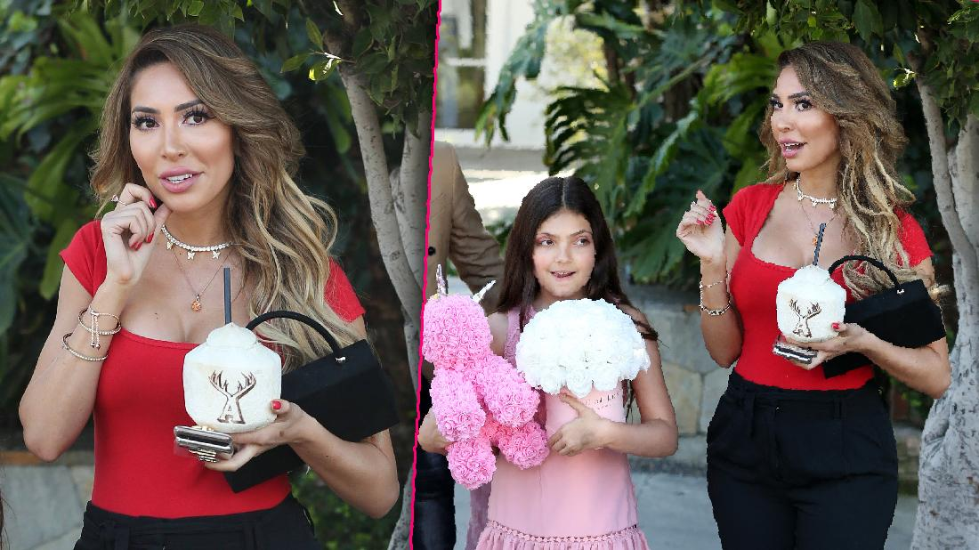 Farrah Abraham Seen With Daughter After Racy Video Scandal