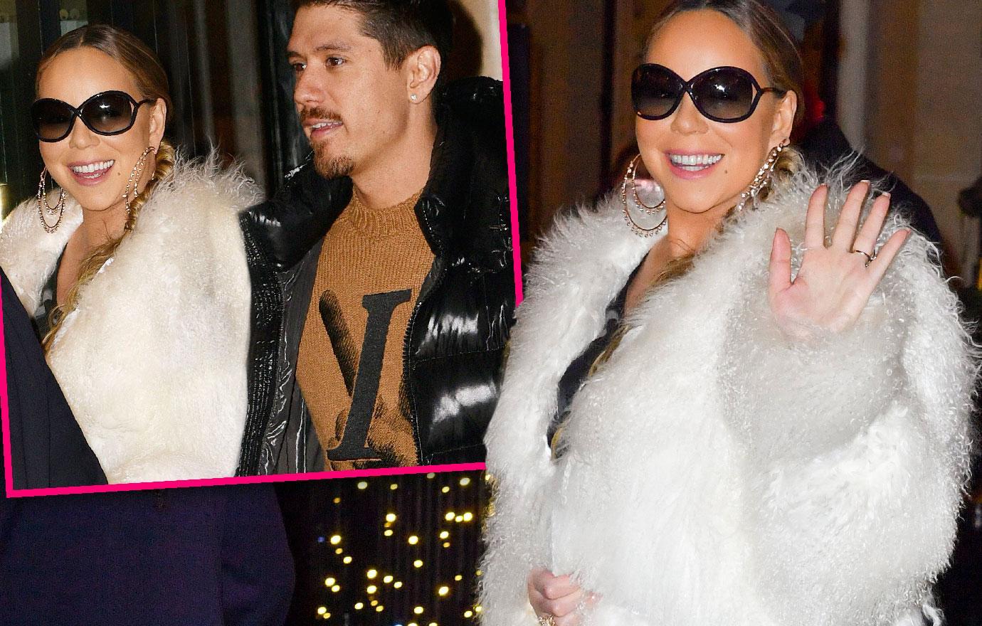 Mariah Carey At Paris Hotel With Boyfriend Bryan Tanaka Amid European Christmas Tour