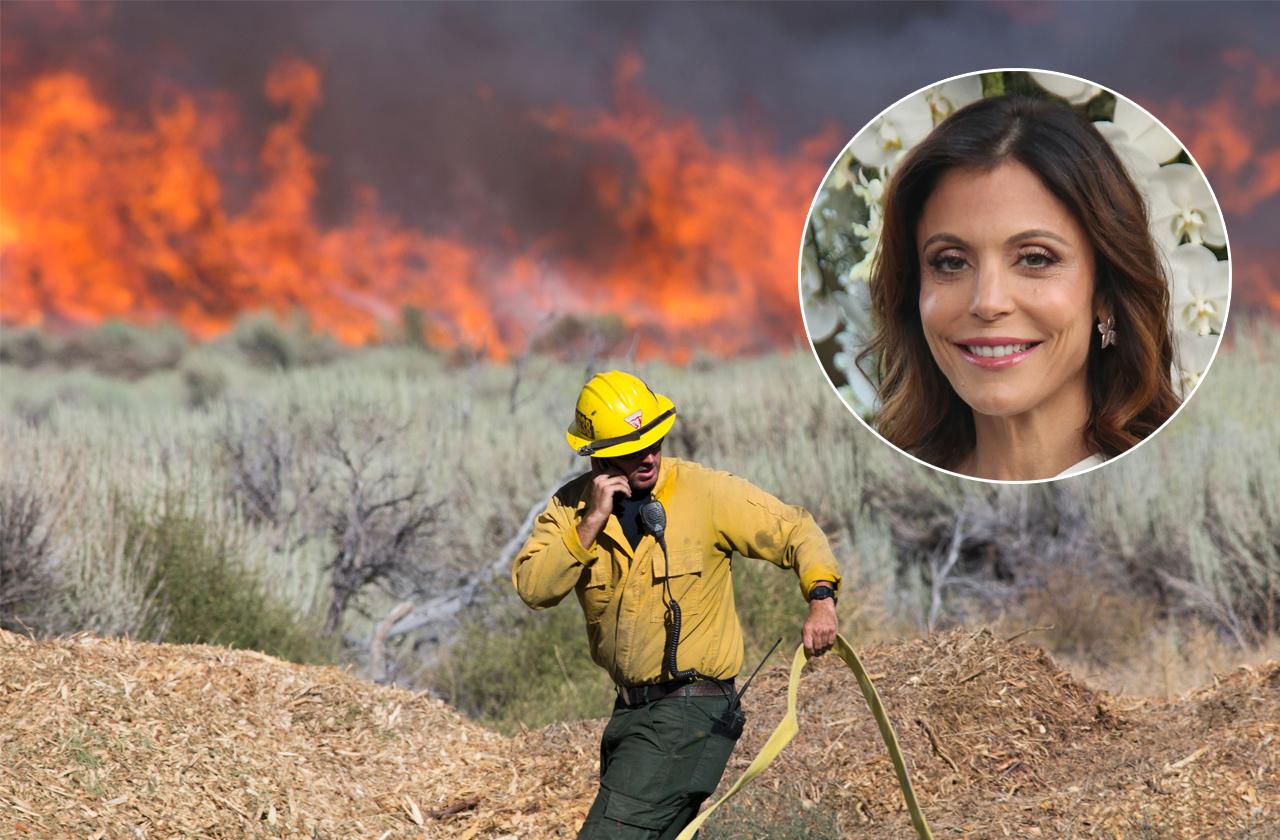 //bethenny frankels foundation helps with wildfire relief pp