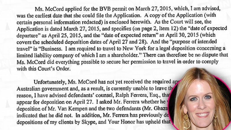 Alex McCord Aluxe Lawsuit