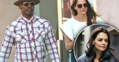 Jamie Foxx Katie Holmes Engagement Rumors Mystery Woman