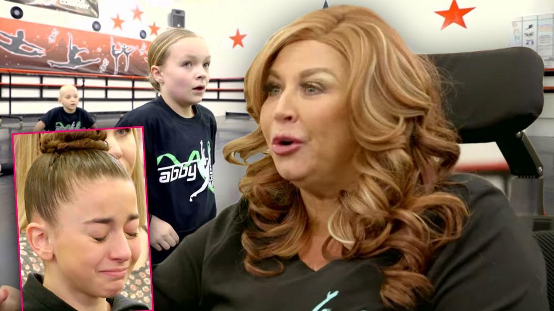 Abby Lee Miller screams crying kids dance moms season 8