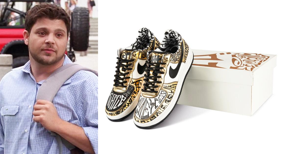 entourage turtle air force  sneakers sold k auction rf