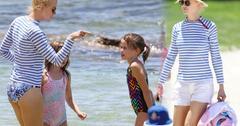 //nicole kidman bikini butt beach daughters pp