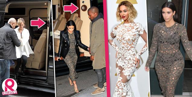 //kim kardashian copies beyonce anna wintour dinner wide