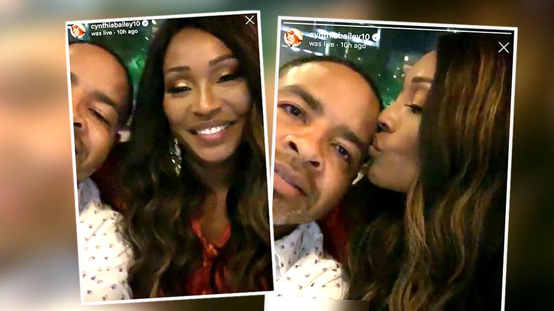 Cynthia Bailey Shows Off Engagement Video
