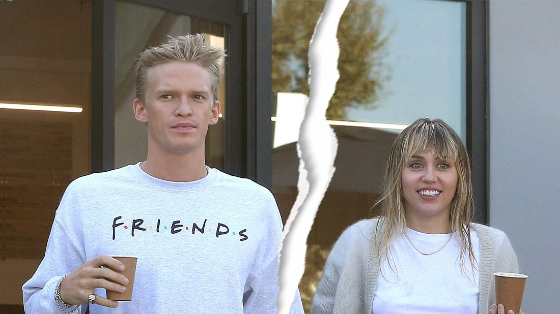 Miley Cyrus & Cody Simpson On Break Following Whirlwind Romance