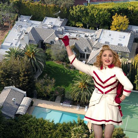 //madonna beverly hills house