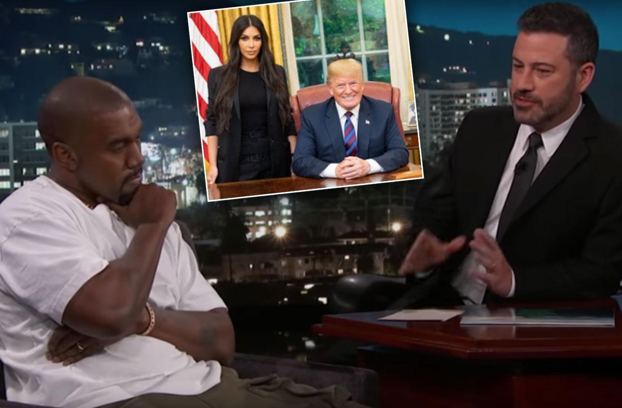Kanye West Afraid Kim Kardashian Alone Donald Trump