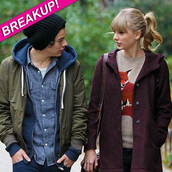//taylor harry breakup splash