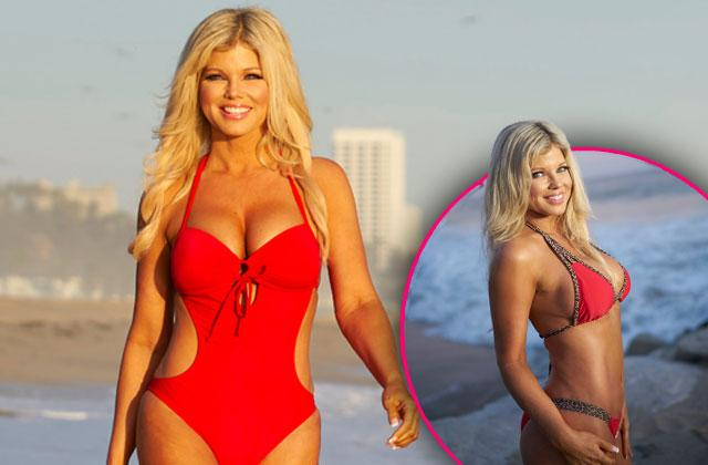 //donna derrico baywatch boobs butt bikini plastic surgery lipo after pp