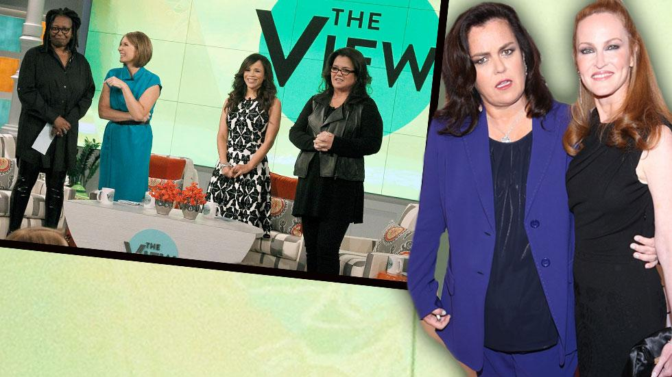 Rosie O'Donnell Leaving 'The View' And Her Wife