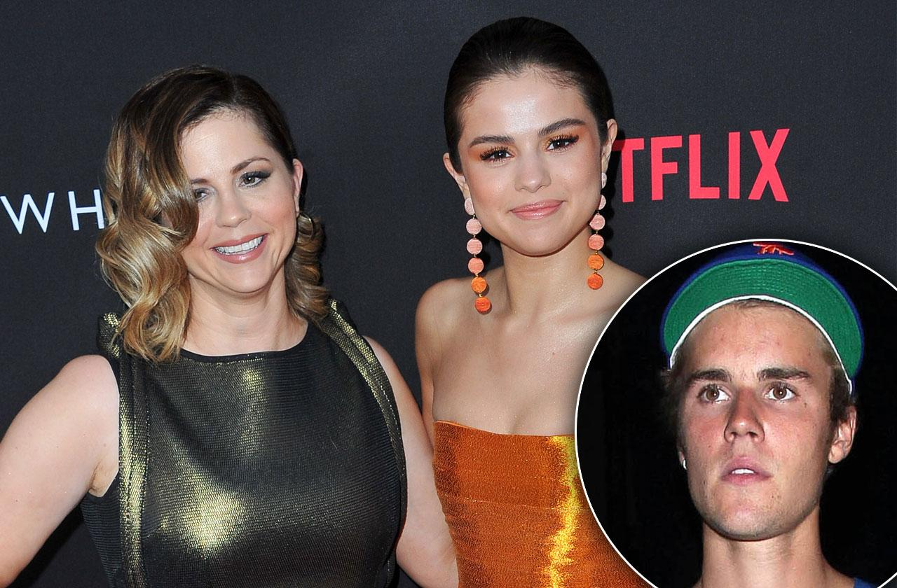 //justin bieber feud selena gomez mom mandy group therapy pp