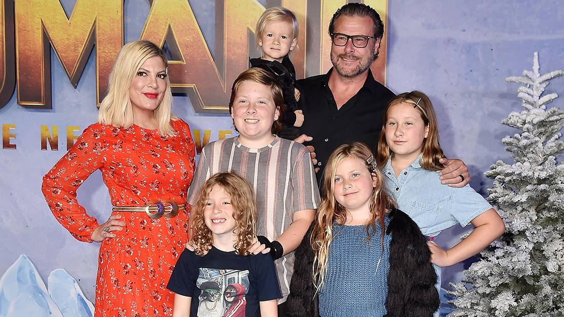 Tori Spelling Denies Using Christmas PJs Kid Pics For Profit