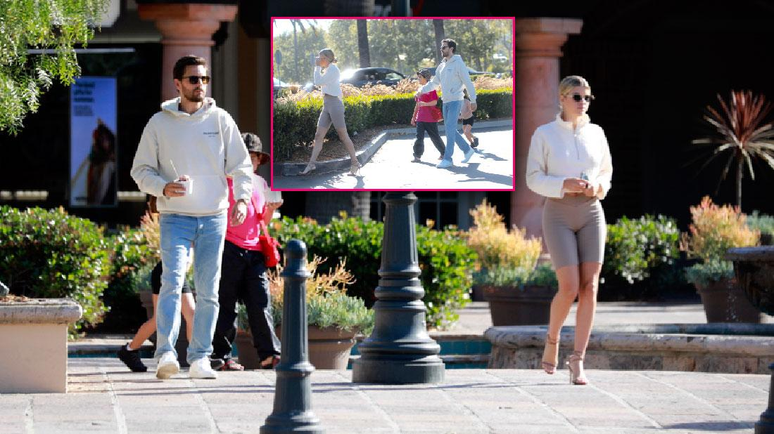 Scott Disick Sofia Richie Get Ice Cream After His Kourtney Trip
