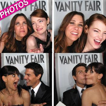 //vanity fair party photo booth