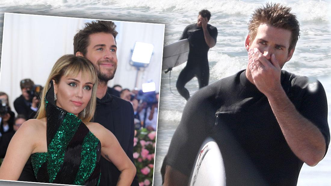 Liam Hemsworth Says He Wishes Miley Cyrus Happiness After Split