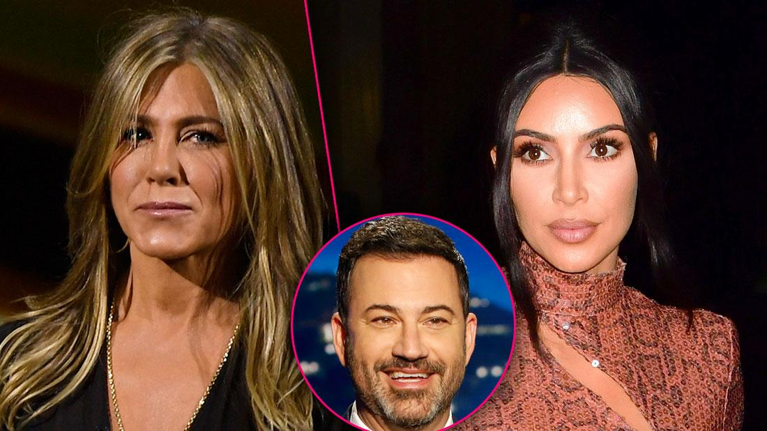 Friend Cutting Jennifer Aniston Threatens Friendship With Kimmel For Friendship With Kardashians
