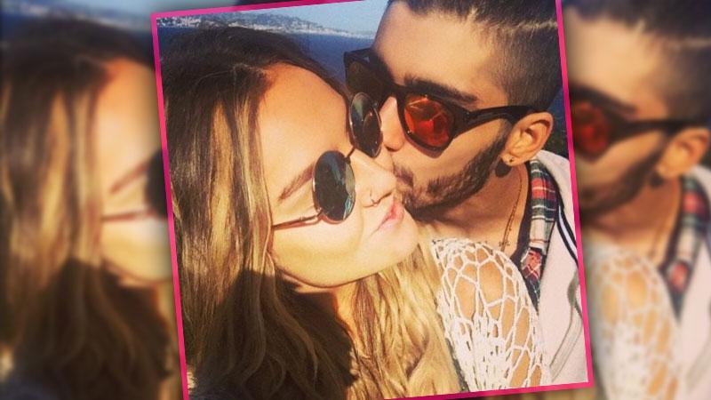 Zayn Malik Perrie Edwards Instagram Kiss