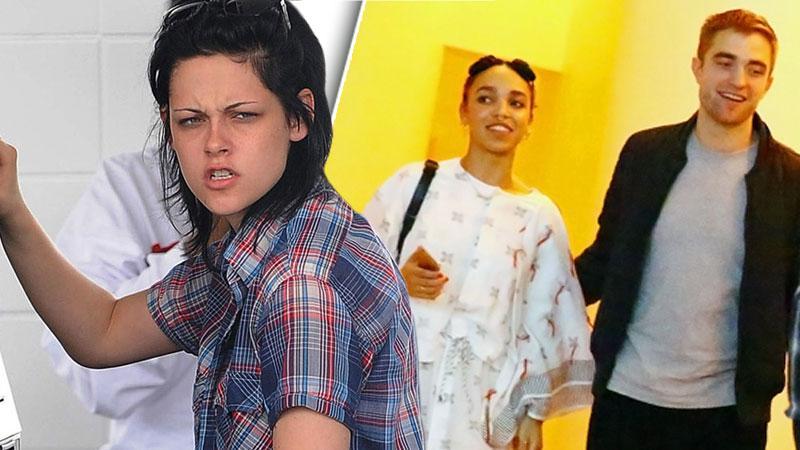 Kristen Stewar Angry Robert Pattinson Engaged