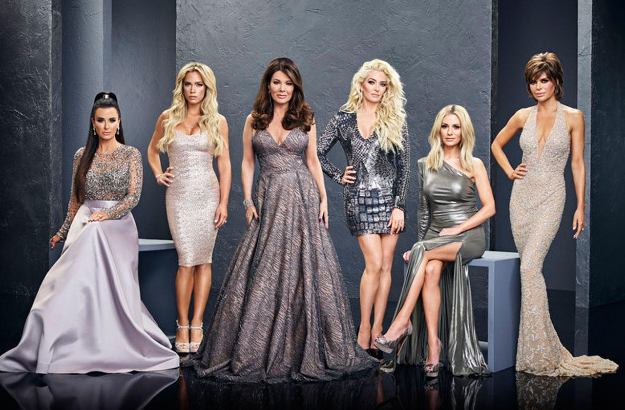 //real housewives beverly hills cast film bravo reunion show pp