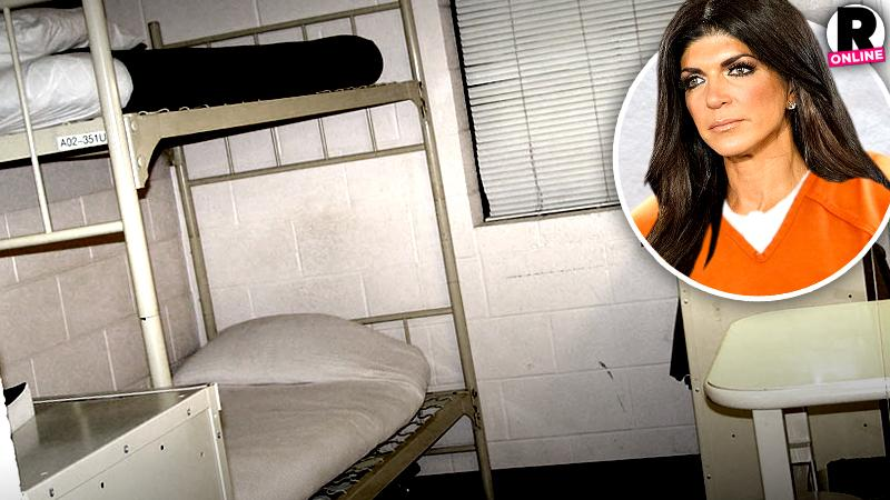 //teresa giudice what to expect prison no physical contact inmates allowed sunbathe pp sl