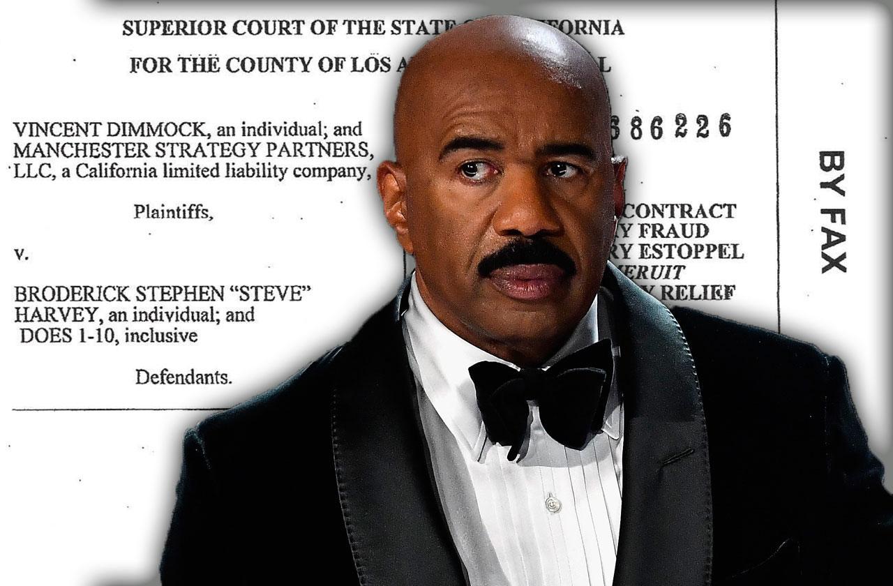 Steve Harvey Million Dollar Lawsuit