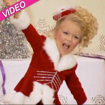 //toddlers tiaras merry christmas video