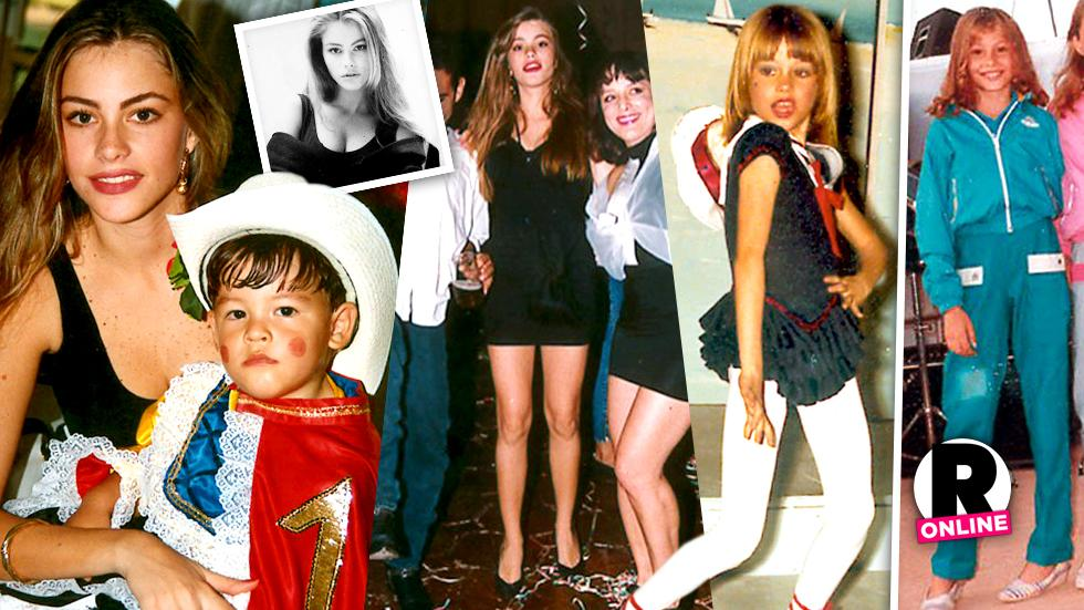 Sofia Vergara Childhood