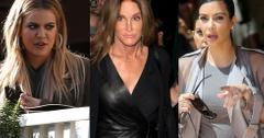 Caitlyn Jenner Fight Kardashians