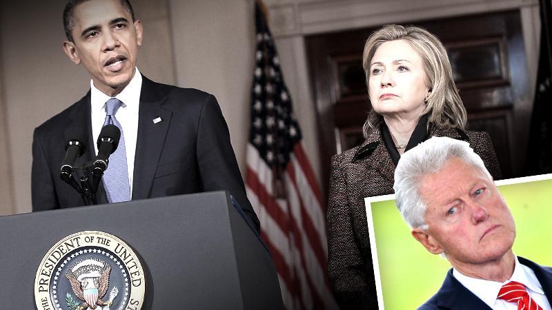 //bill clinton tells friends obama sabotaging hillary chance become next president pp sl