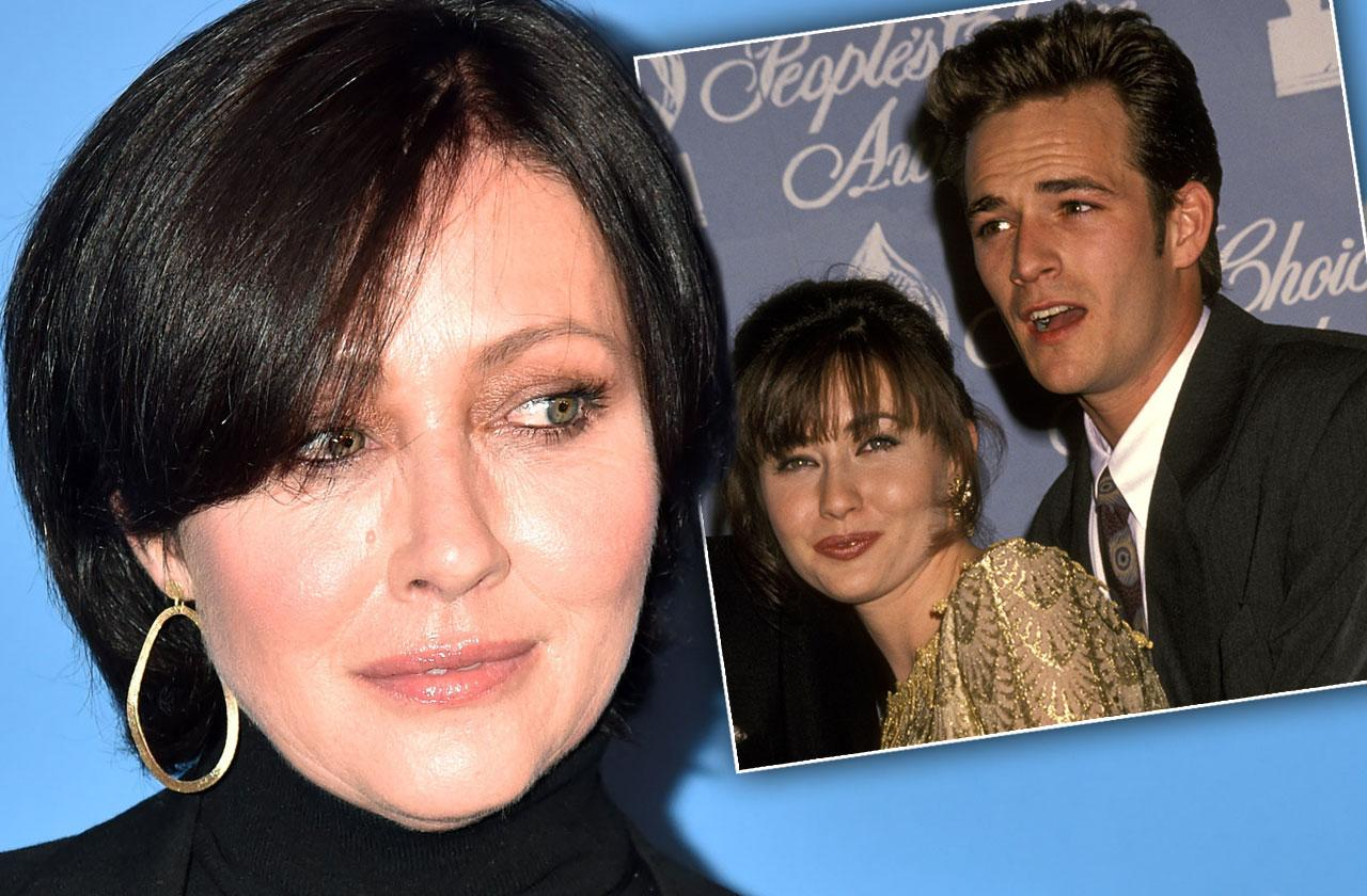 Shannen Doherty Emotional Interview Luke Perry Stroke