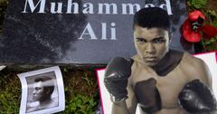 //muhammad ali death headstone kentucky photos pp