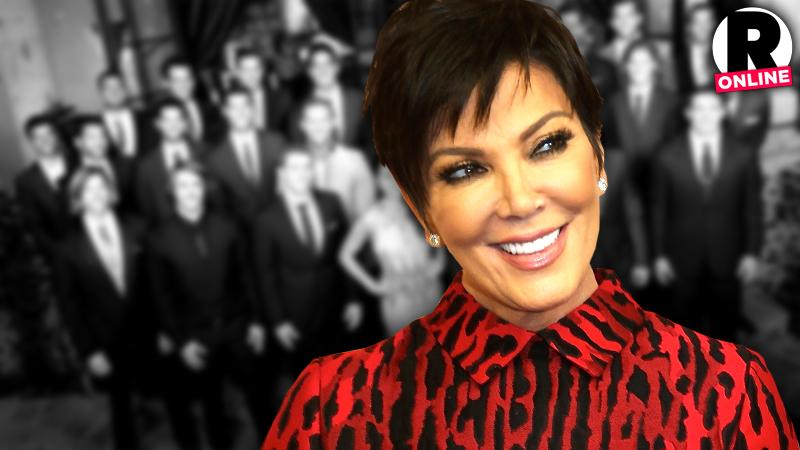 //kris jenner pitching dating reality show pp sl