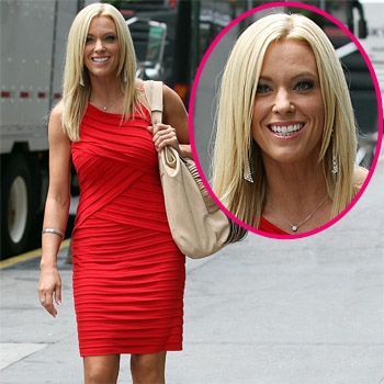 //kate gosselin red dress new york