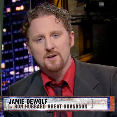 //jamie dewolf ron hubbard grandson clip