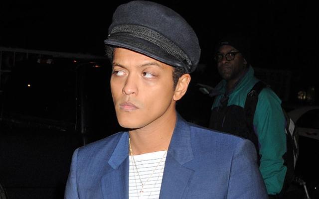 Bruno Mars Outburst Super Bowl Rehearsal