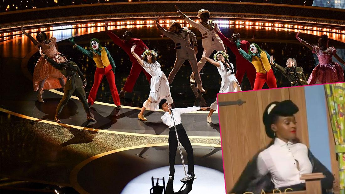Oops! Janelle Monae's Embarrassing Wardrobe Malfunction During Oscars Opening Act