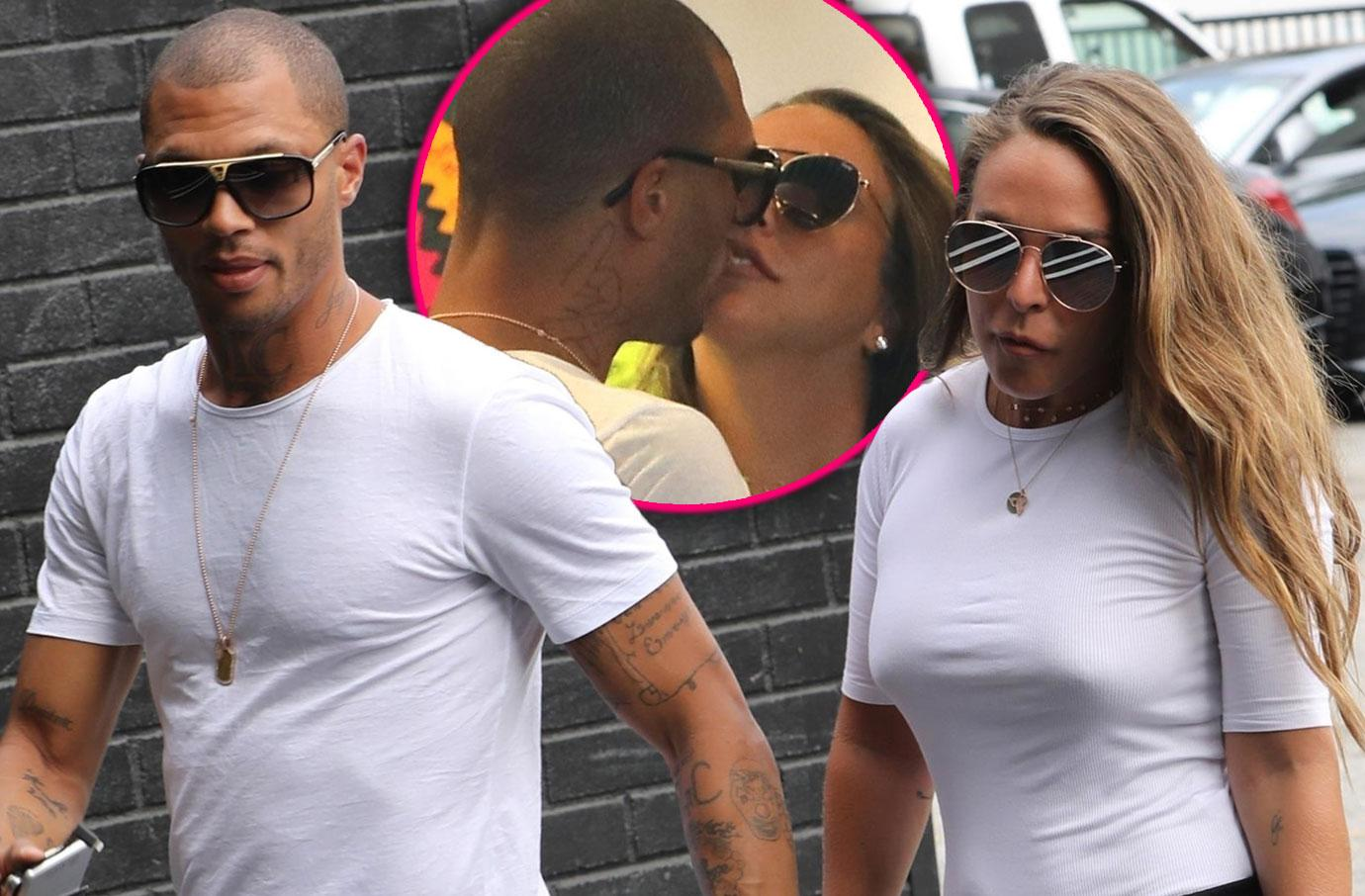 Jeremy Meeks And Chloe Green Go Jewelry Shopping In Beverly Hills