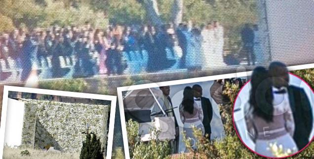 //kim kardashian kanye west wedding france florence photos paris