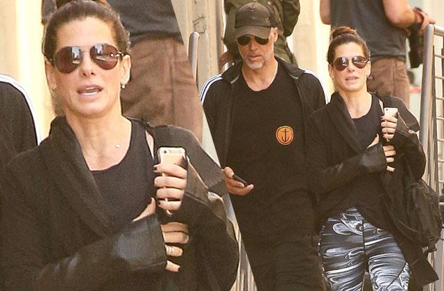 Sandra Bullock Boyfriend Bryan Randall Gym NYC