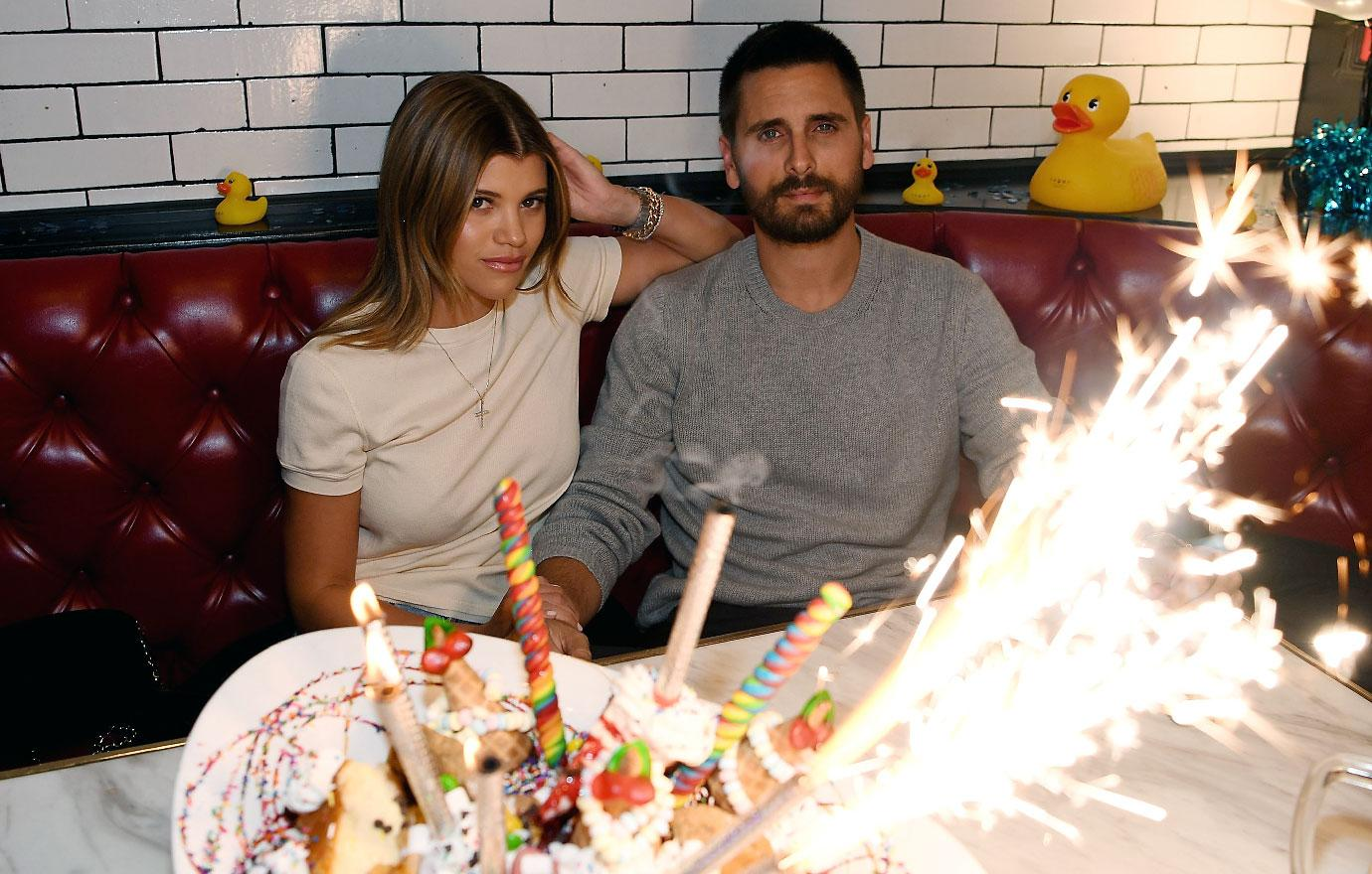 Scott Disick And Sofia Richie Have Dinner In Las Vegas Sugar Factory