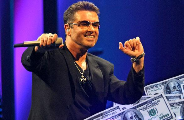 //george michael dead sister melanie inherits fortune pp