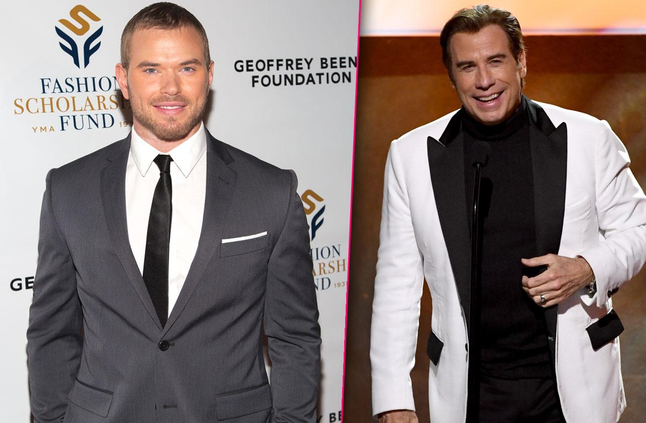 John Travolta Parties With Kellan Lutz In Puerto Rico